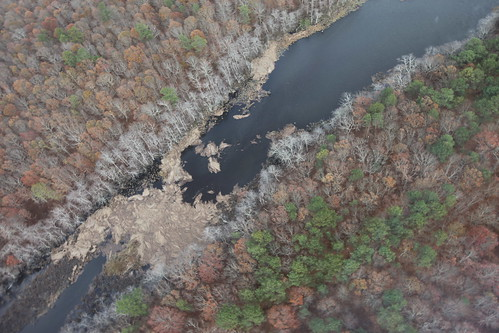 Aerial view of Wertheim National Wildlife Refuge after Hurricane Sandy (NY) | by U. S. Fish and Wildlife Service - Northeast Region
