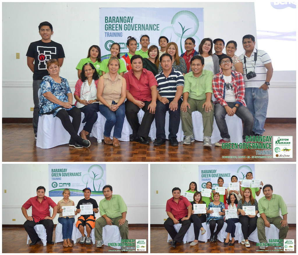 Aksyon Kalikasan | Barangay Green Governance - Photo Op