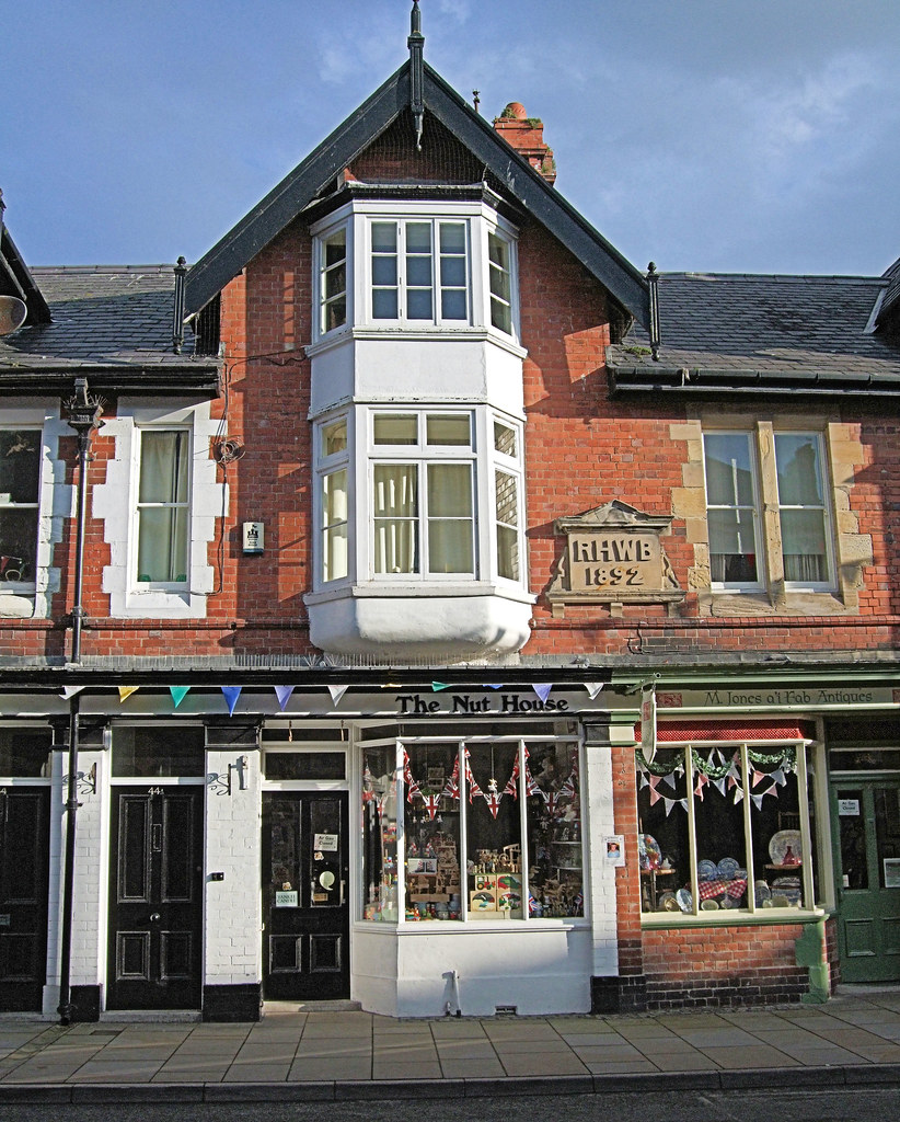 The nut house beaumaris anglesey wales jim linwood for Pecan house