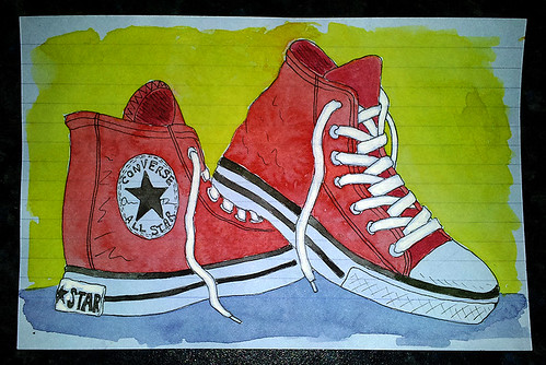 ICAD day 41 - EDM prompt #1 draw your shoes | by Thursday.Next