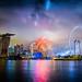 Singapore - National Education Show 1 Fireworks 14 July 2012