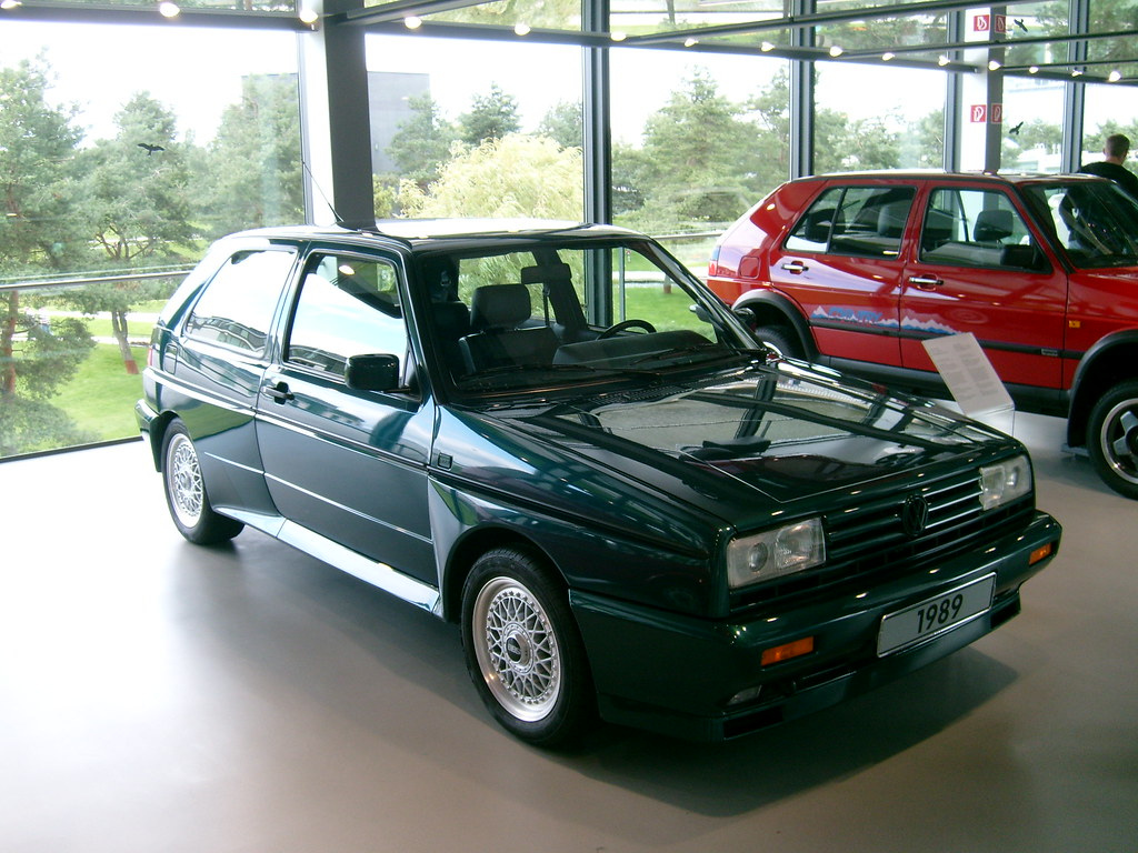 Volkswagen Golf Rallye G60 Bruno Kussler Marques Flickr