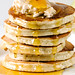 Shredded Pear Pancakes with Cinnamon Ricotta