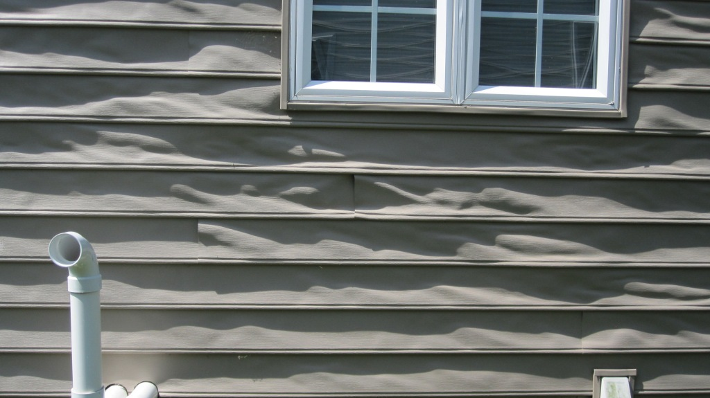 Melted Vinyl Siding Feel Free To Use This Photo But