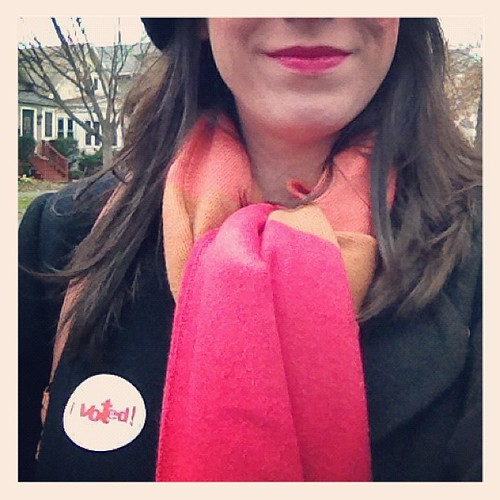 I voted. | by Nicole Balch