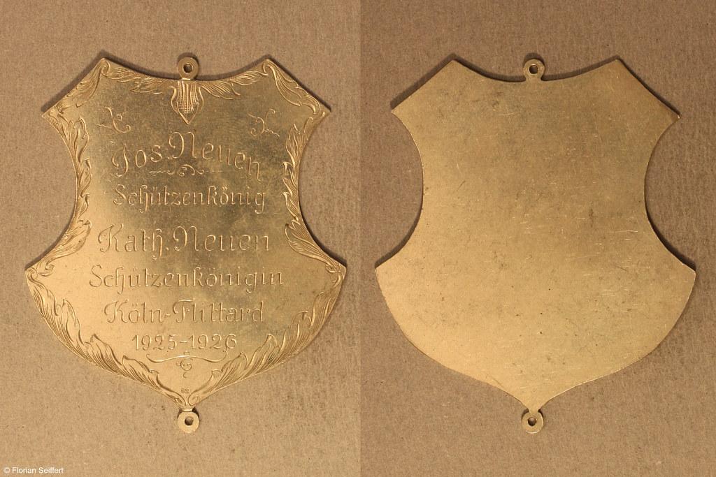 Koenigsschild Flittard von neuen jos aus dem Jahr 1925