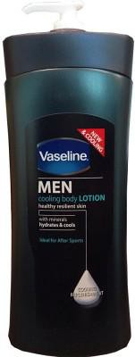 Body Lotion for men - Vaseline Men Cooling Replenishment Body Lotion