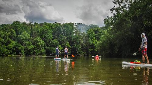 Kayaking and SUP on Saluda Lake-33