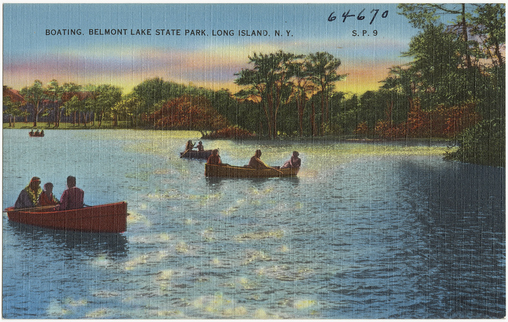 Boating Belmont Lake State Park Long Island N Y Flickr