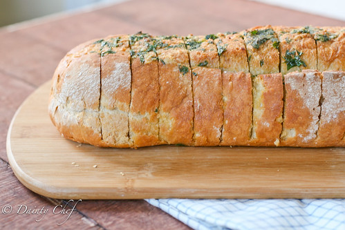 Garlic Herb Italian Bread | by daintychef