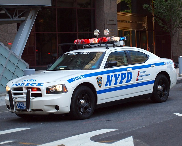 Nypd highway patrol police car world financial center - Garden city police department ny ...