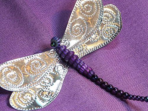 Punched tin dragonfly tutorial for making a punched tin - Manualidades de tela para el hogar ...