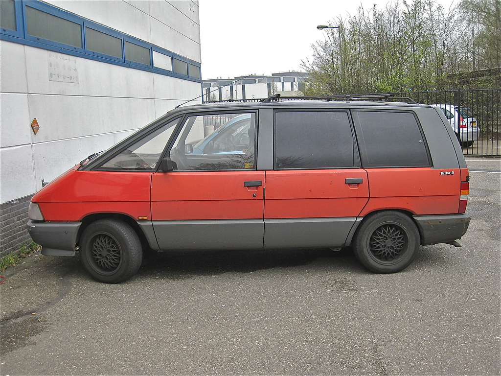 renault espace turbo d type ii 1988 here you can see. Black Bedroom Furniture Sets. Home Design Ideas