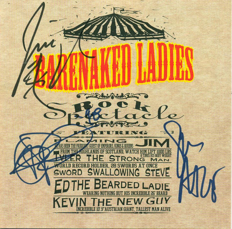 Autographed CD Jacket
