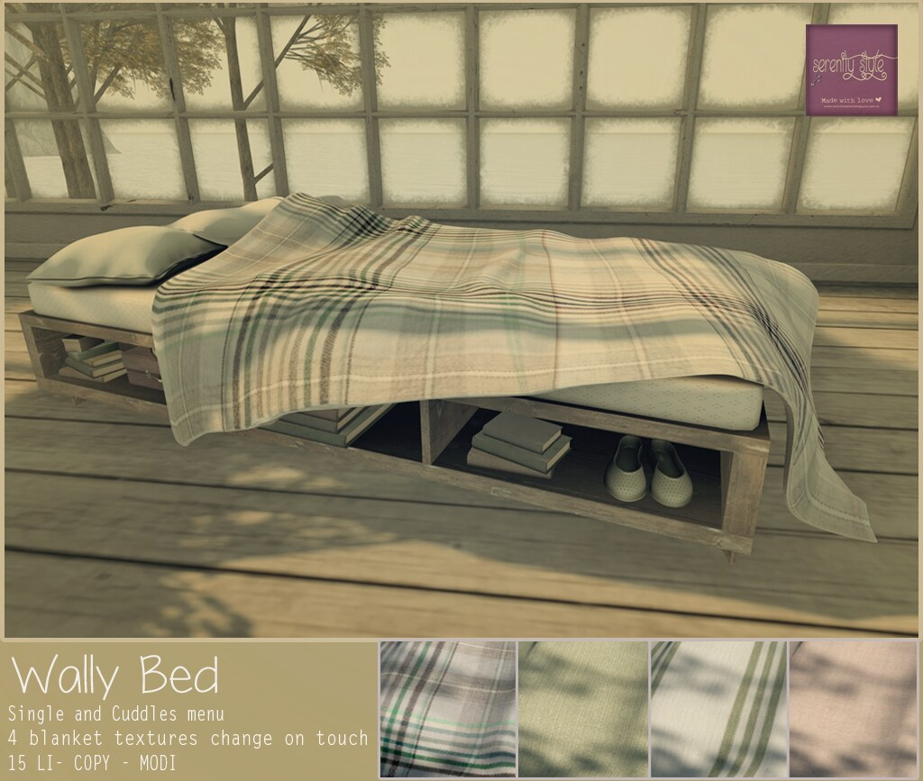 Serenity Style- Wally Bed
