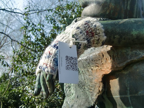 New Wristwarmer for the Sabine Woman | by Fibre Piratess