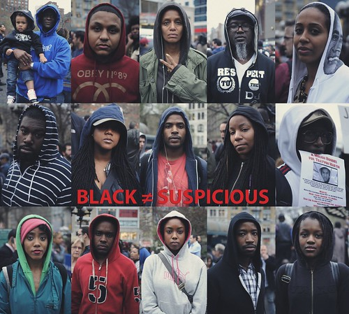 ::BLACK ≠ SUSPICIOUS:: Photo by J. Quazi King Million Hoodie March for Trayvon Martin. Union Square NYC. 03.21.2012 | by J. Quazi King