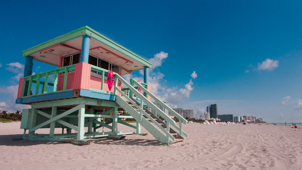 South Beach Lifeguard Huts