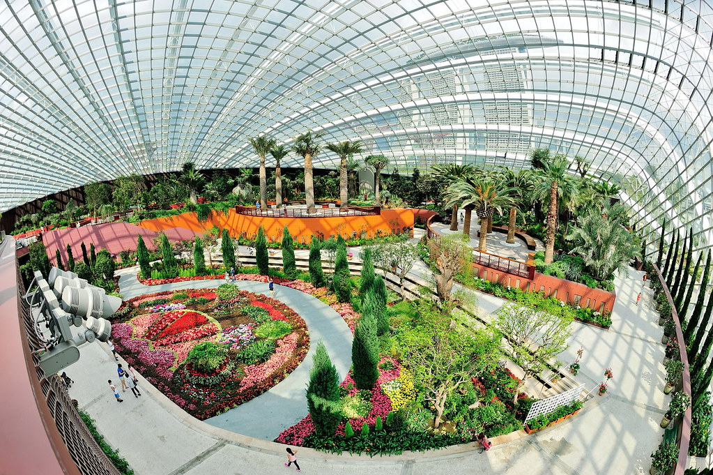 Flower dome gardens by the bay add me on facebook j t flickr - Garden by the bay flower show ...
