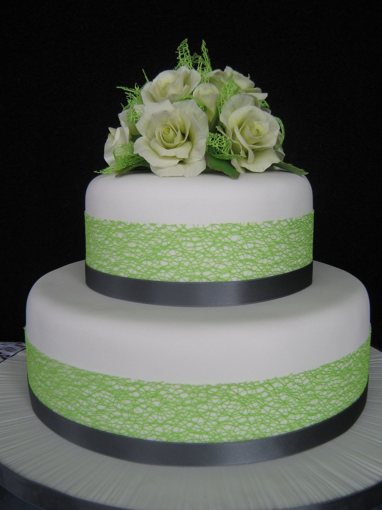 pictures of lime green wedding cakes lime and charcoal coloured wedding cake with pale l 18409