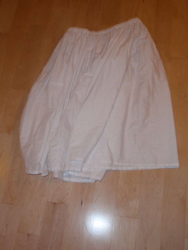 how to make a circle skirt with elastic waist