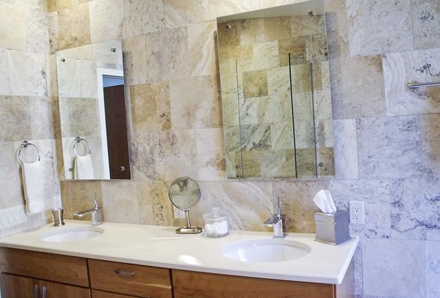 Williams bathroom in holland michigan designed by laura mccranner