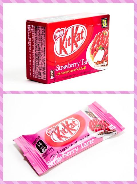 Strawberry Kit Kat Cake Recipe