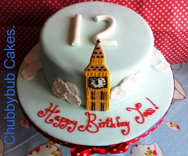 Big Ben Cake Images : Big Ben Birthday Cake Images - Frompo