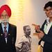 Balbir Singh and his grandson Kabir © ROH 2012