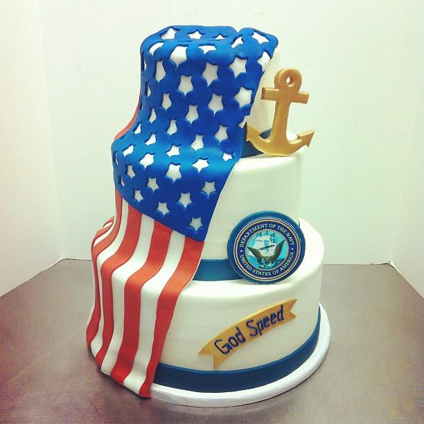Navy Chief Birthday Cake