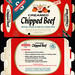 Swanson - Creamed Chipped Beef - flavor-seal pouch - NEW! - TV Dinner - packaged food box - 1950's 1960's