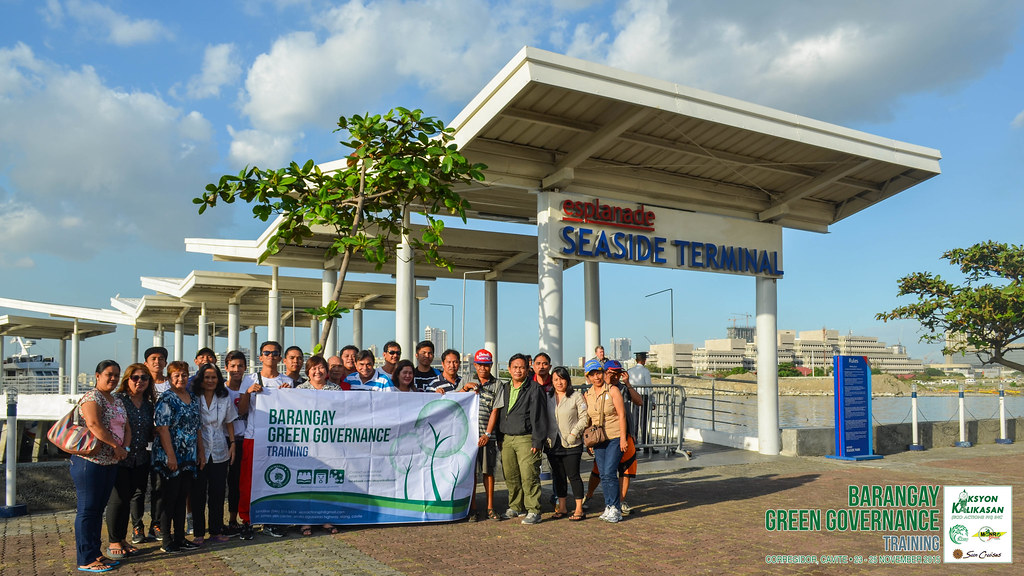 Aksyon Kalikasan | Barangay Green Governance - Photo Op at Seaside Terminal