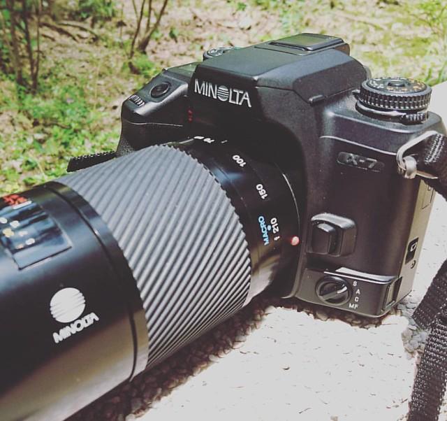 Minolta AF 70-210mm f4 平庸脫俗的銘鏡味道