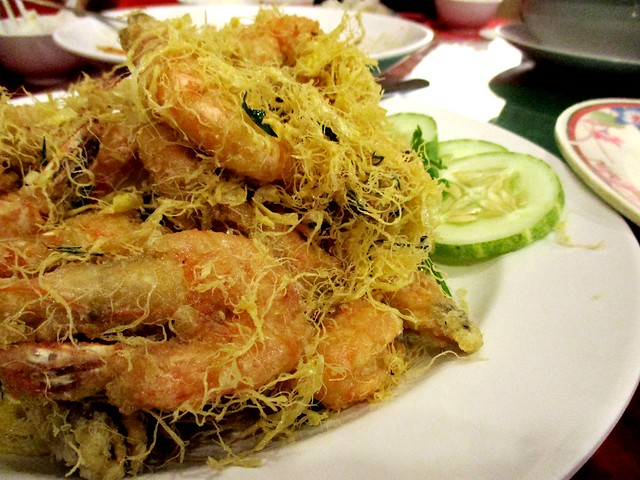 Tung Seng cheese & butter prawns 1