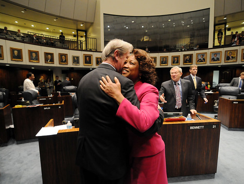 Lt. Governor Carroll visits with lawmakers during Sine Die | by FLGOVSCOTT