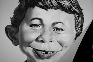 Alfred E. Neuman | by San Diego Shooter