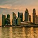 CBD at dusk - Singapore