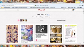 pinterest-1000repins-screenshot | by narikannan