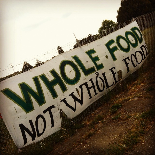 Whole Food not Whole Foods - Occupy the Farm