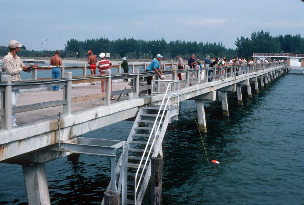 Fishing pier in high demand fort de soto park st peters for Fort desoto fishing pier