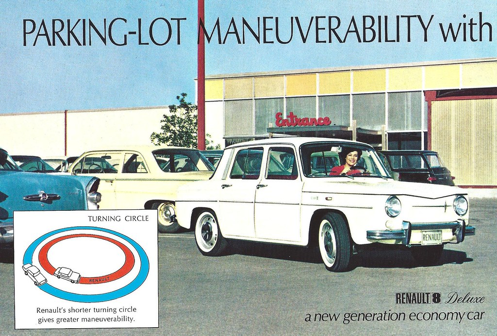 Renault 8 USA | Flickr - Photo Sharing!: https://www.flickr.com/photos/hugo90/7444380742