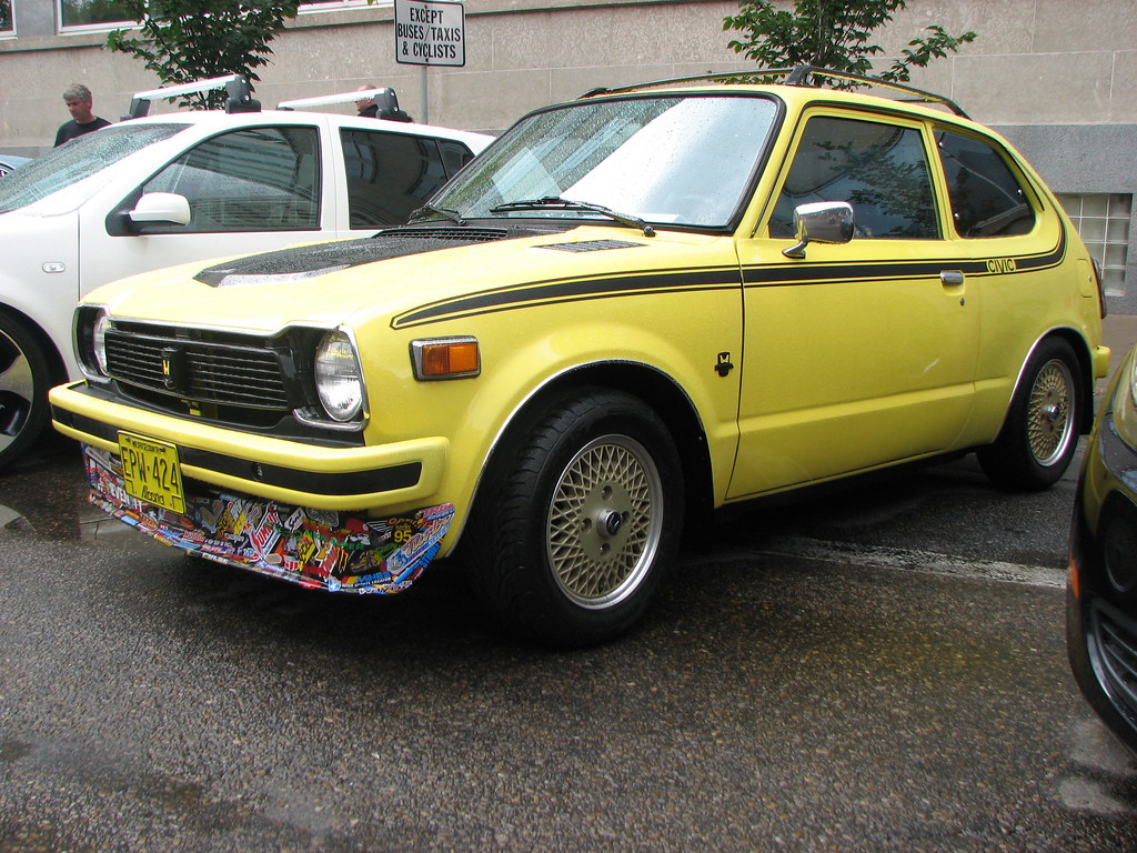 1978 honda civic blondy flickr for 1978 honda civic