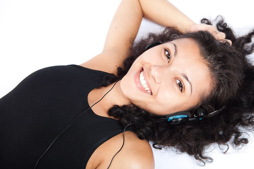 Woman listening to Music | by RelaxingMusic