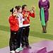Archery Ladies Medal Ceremonay