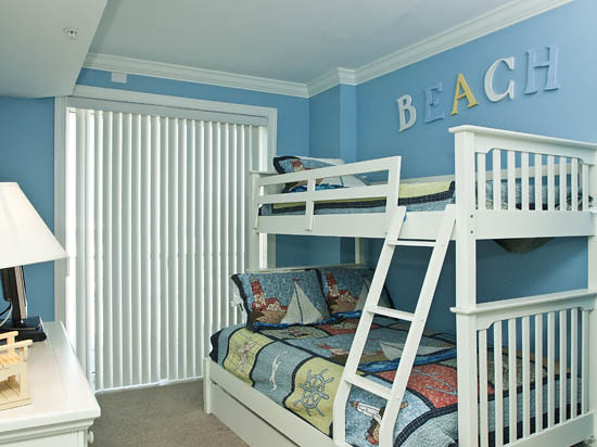 Bedroom 3 Bedroom 3 Has Pyramid Bunk With Trundle Bed