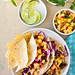 Fish Tacos with Cantaloupe-Pineapple Salsa