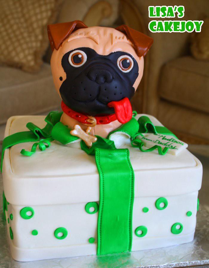 Pug Cake Pan