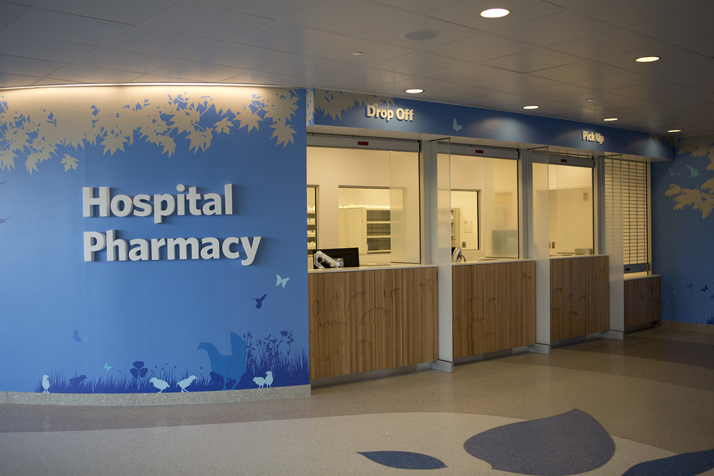 hospital pharmacy Shahid karim, muhammad adnan, in pharmacy practice in developing countries, 2016 711 personnel requirements for hospital pharmacies the hospital pharmacy is integrated with the dispensing section, manufacturing section, quality assurance section, and clinical pharmacy services.