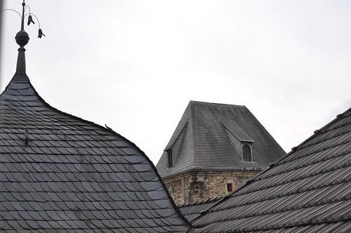 屋顶的颜色