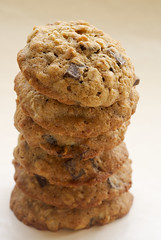 Banana Pecan Chocolate Chunk Cookies